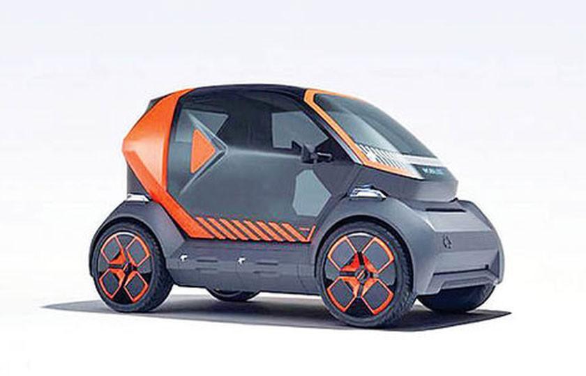 تولید سه مدل خودروی برقی کوچک توسط رنو