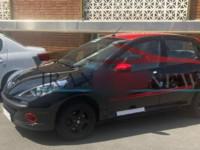 انتشار اولین تصویر از پژو ۲۰۷ دو رنگ ایران خودرو