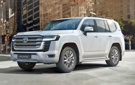 خودرو جدید پلیس کشور امارات ، تویوتا لندکروز ۲۰۲۲