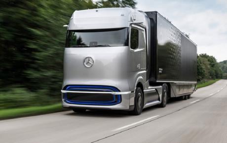 ورود کامیون برقی بنز به بازار