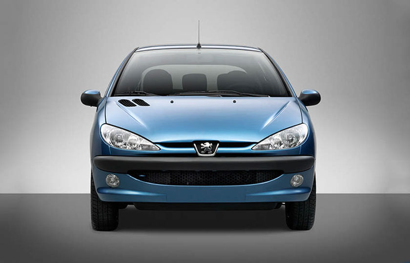 قیمت جدید لوازم یدکی خودرو پژو 206 / تیر 1400