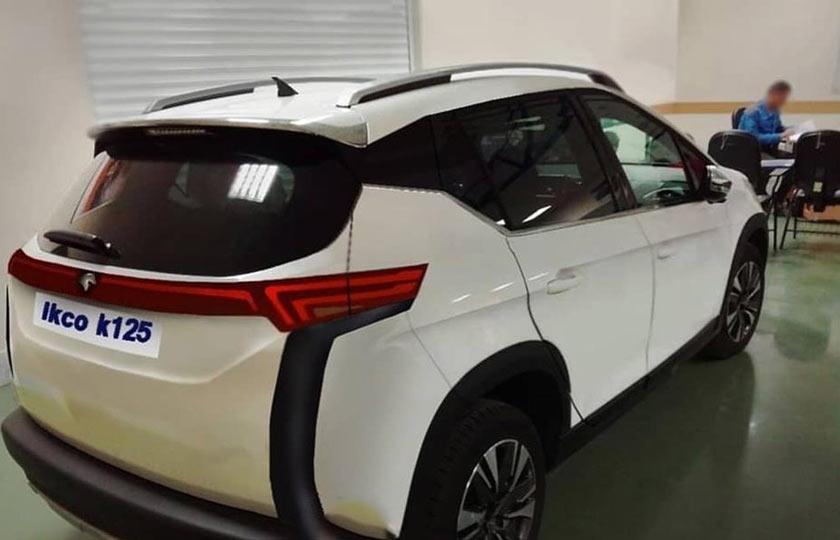 اطلاعاتی از کراس اوور جدید ایران خودرو K125